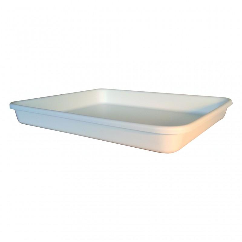 Bac de lavage Polyéthylène blanc